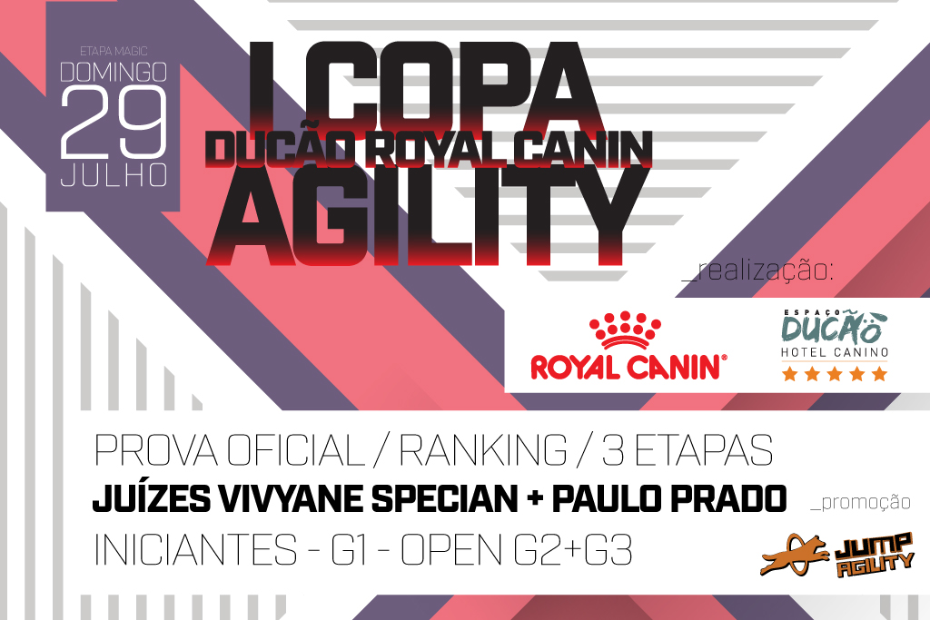 Etapa Magic – I Copa Ducão Royal Canin de Agility – SP – 29/07/2018