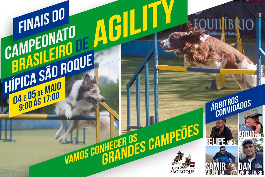 9ª e 10ª Etapas – XX Campeonato Brasileiro de Agility – 04 e 05/05/2019