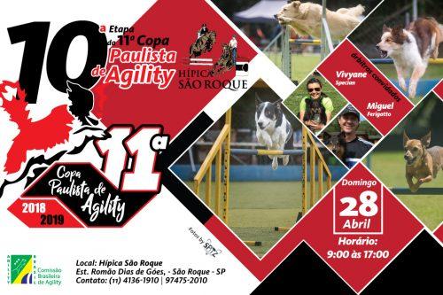Ordens de Entrada – 11ª Etapa – XI Copa Paulista de Agility