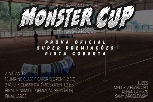 Monster Cup de Agility – 08/12/2019