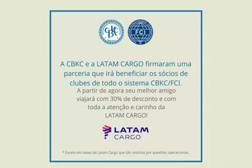 Parceria entre CBKC e Latam Cargo