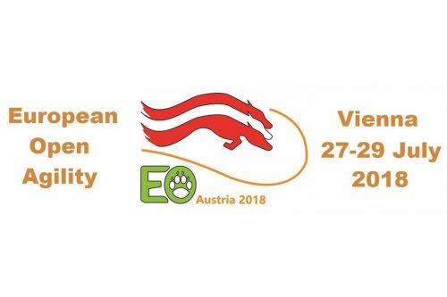 Participação do Brasil na Abertura do European Open Agility 2018