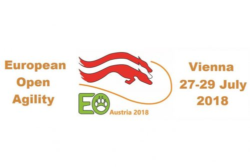 Participação no European Open Agility 2018 – Vienna – Áustria