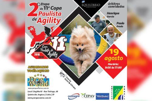 2ª Etapa – XI Copa Paulista de Agility – 19/08/2018