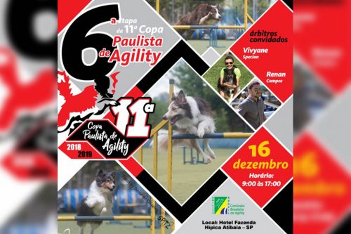 6ª Etapa XI Copa Paulista de Agility – Imagem para estacionar