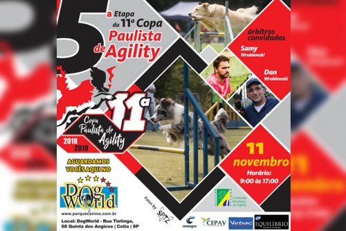 5ª Etapa – XI Copa Paulista de Agility – 11/11/2018