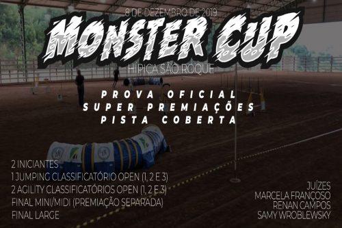 Monster Cup de Agility – 08/12/2019