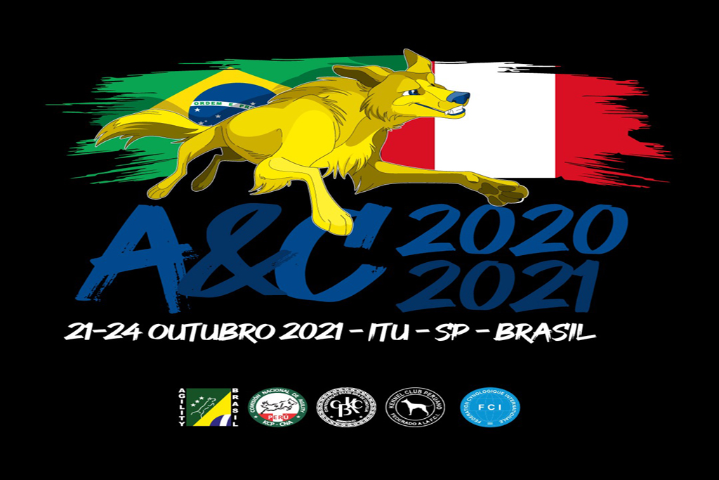 Nova data do Campeonato Américas & Caribe FCI de Agility 2020-2021